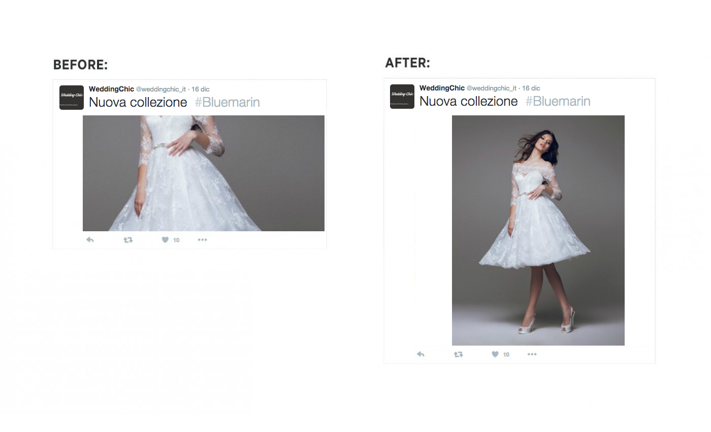 Nuovo formato di immagini per twitter
